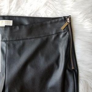 MICHAEL Michael Kors Pants - Michael Kors Faux Leather Pants